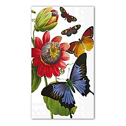 16-Count Butterfly Print 3-Ply Paper Guest Towels