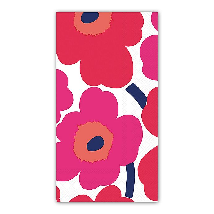 Alternate image 1 for 16-Count 3-Ply Unikko Flowers Paper Guest Towels