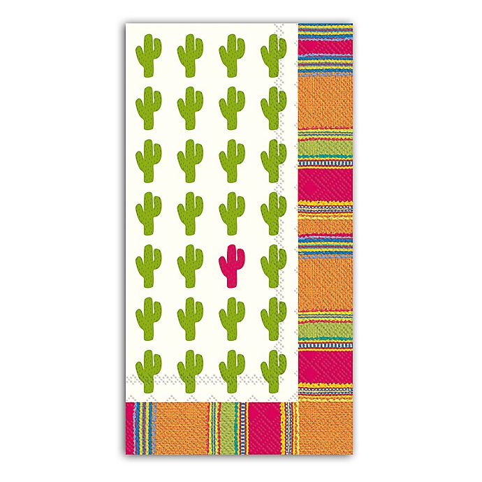 Paper Guest Towels Bathroom: Habanera Cactus 3-Ply Paper Guest Towels