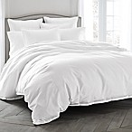 Wamsutta® Dream Zone® Dream Bed 400-Thread-Count King Duvet Cover Set in White