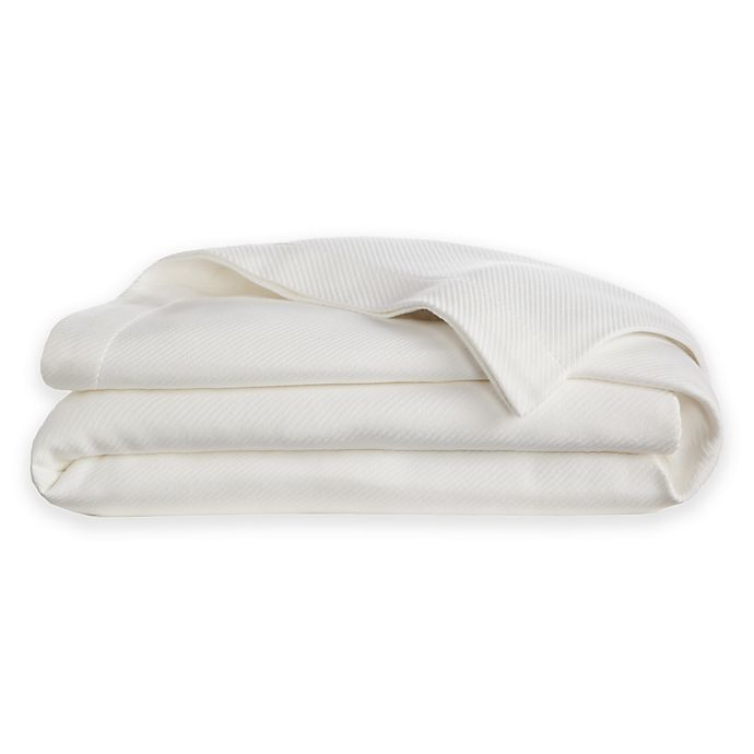 Alternate image 1 for Wamsutta® Dream Zone® Dream Bed MICRO COTTON® Full/Queen Blanket in White