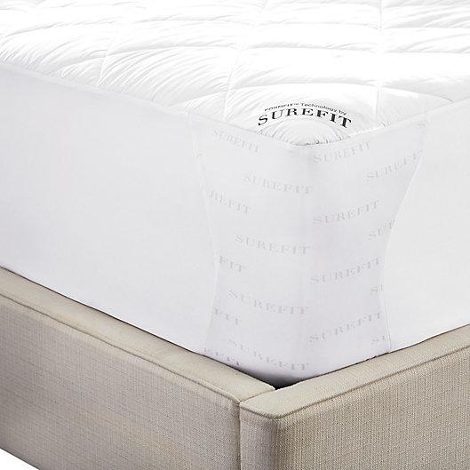 Alternate image 1 for Sure Fit® Deluxe Memory Foam Mattress Pad