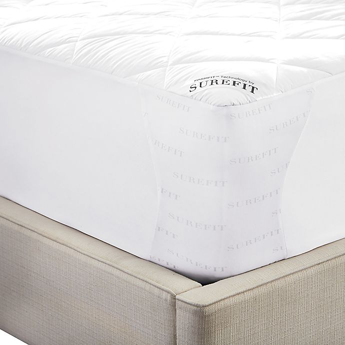 Alternate image 1 for Sure Fit® Deluxe Memory Foam Mattress Pad