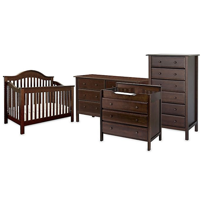 Alternate image 1 for DaVinci Jayden Nursery Furniture Collection in Espresso