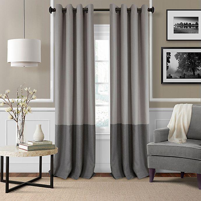 Alternate image 1 for Elrene Braiden Grommet Room-Darkening Window Curtain Panel (Single)
