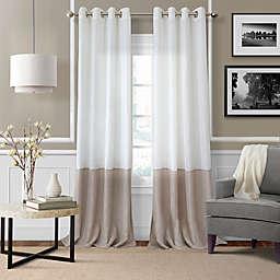Elrene Melody Grommet-Top Sheer Window Curtain Panel