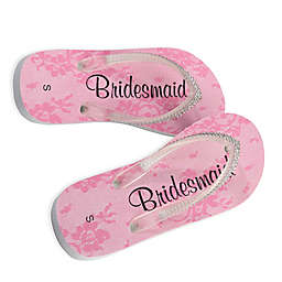 Lillian Rosetrade Bridesmaid Womens Flip Flops Add To Idea Board Quickview