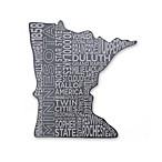 Top Shelf Living Minnesota Etched Slate Cheese Board