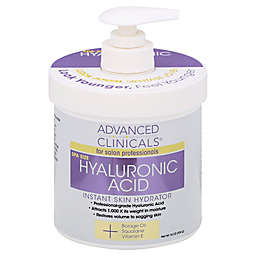 Advanced Clinicals® 16 oz. Hyaluronic Acid Instant Skin Hydrator
