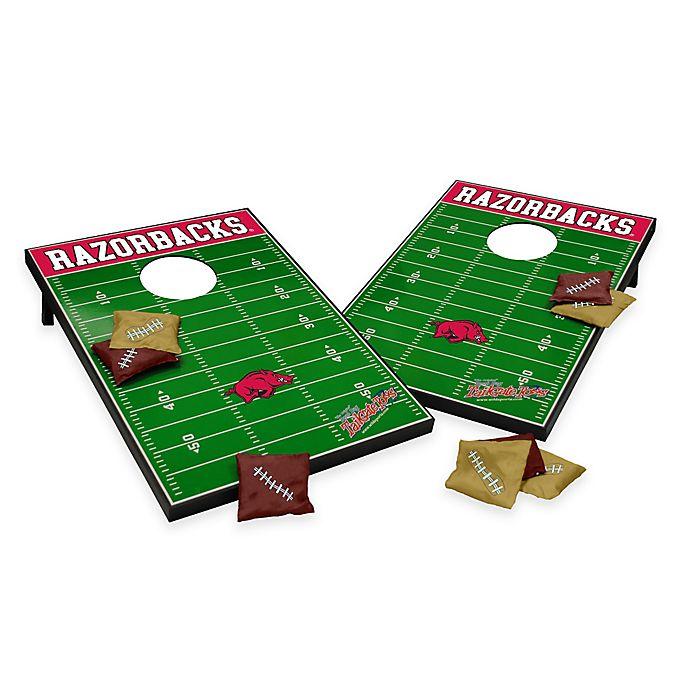 Alternate image 1 for NCAA University of Arkansas Field Tailgate Toss Cornhole Game