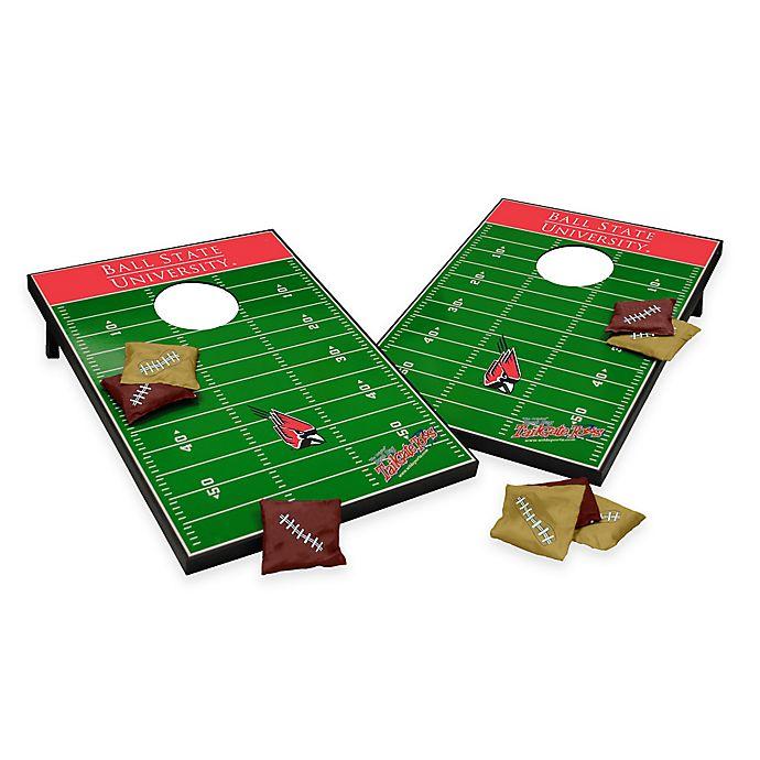 Alternate image 1 for NCAA Ball State University Field Tailgate Toss Cornhole Game