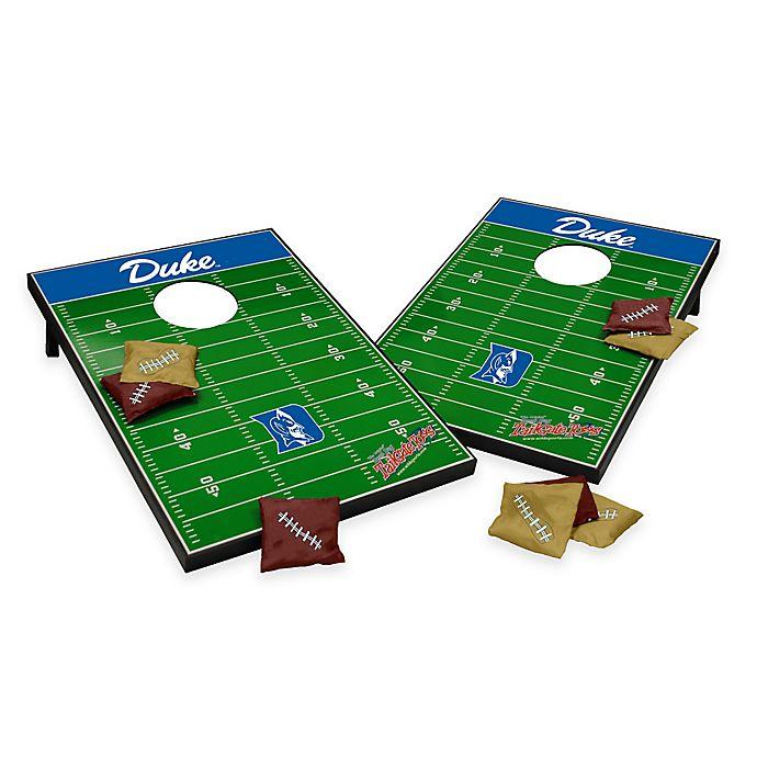 Alternate image 1 for NCAA Duke University Field Tailgate Toss Cornhole Game