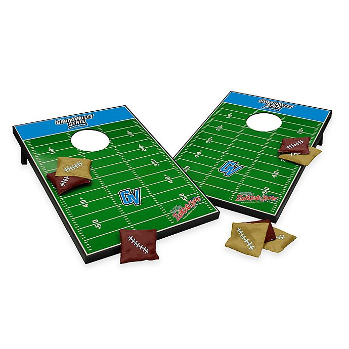 Alternate image 1 for NCAA Grand Valley State University Field Tailgate Toss Cornhole Game