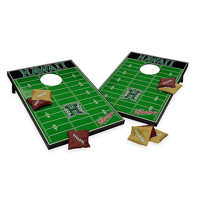 Alternate image 1 for NCAA University of Hawaii Field Tailgate Toss Cornhole Game