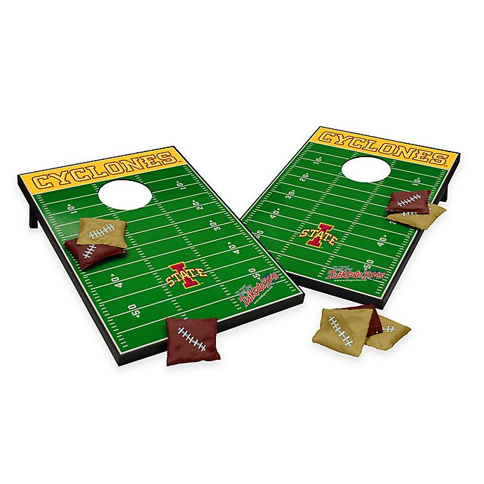 Alternate image 1 for NCAA Iowa State University Field Tailgate Toss Cornhole Game