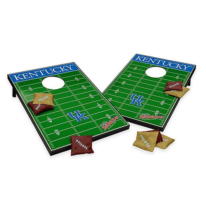Alternate image 1 for NCAA University of Kentucky Field Tailgate Toss Cornhole Game