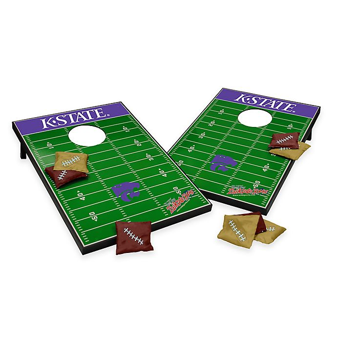 Alternate image 1 for NCAA Kansas State University Field Tailgate Toss Cornhole Game