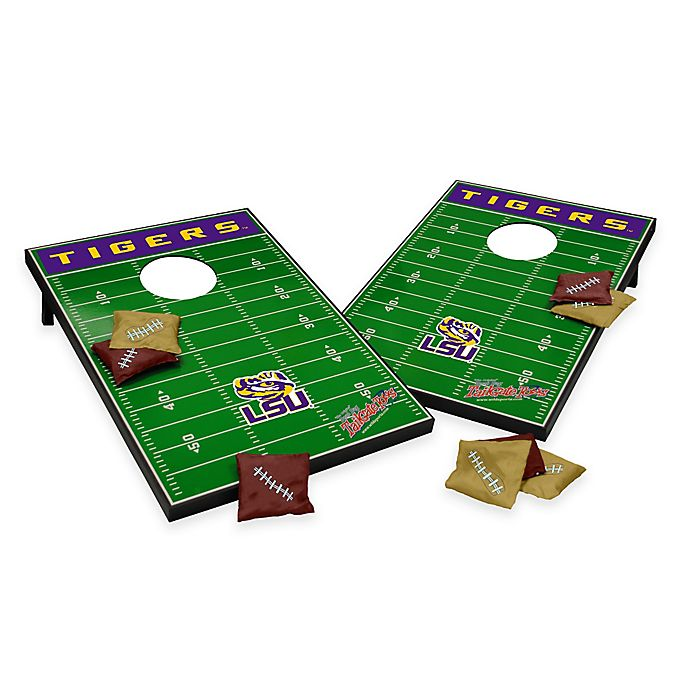 Alternate image 1 for NCAA Louisiana State University Field Tailgate Toss Cornhole Game