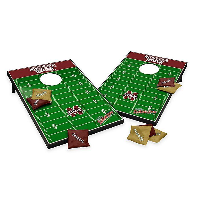 Alternate image 1 for NCAA Mississippi State University Field Tailgate Toss Cornhole Game