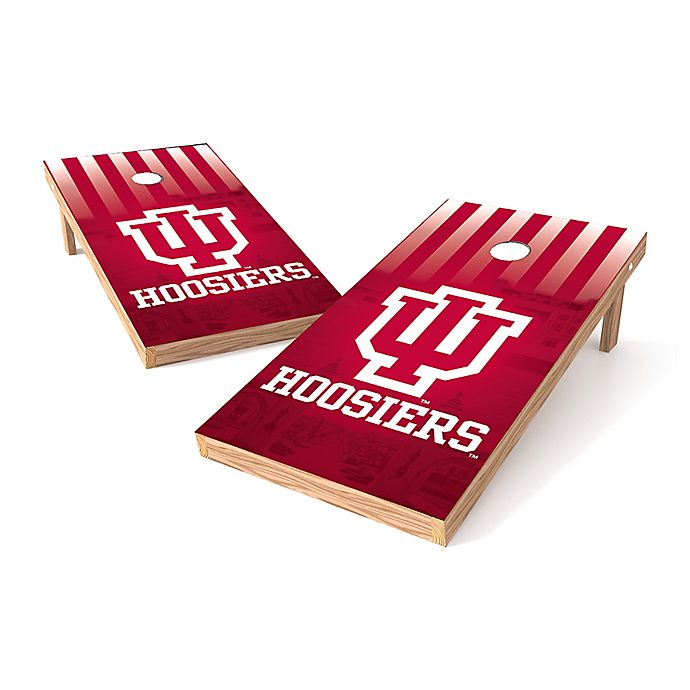 3fdfd4c49e NCAA Indiana University Regulation Cornhole Set