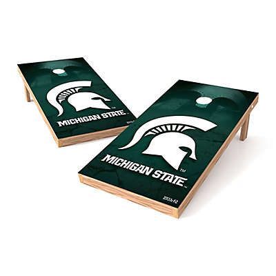 NCAA Michigan State University Regulation Cornhole Set