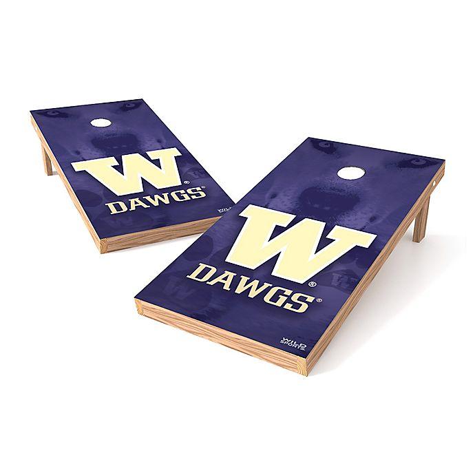Alternate image 1 for NCAA University of Washington Regulation Cornhole Set
