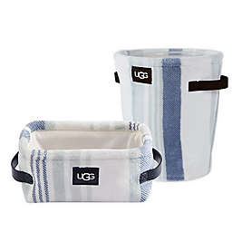 UGG® Avery Bath Accessory Collection in Blue Crush