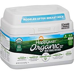 Happy Baby® 21 oz. Stage 2 Organic Infant Formula Powder with Iron