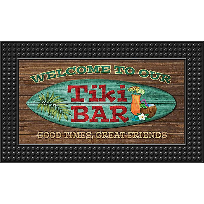 Tiki Bar18 Inch X 30 Inch Led Door Mat Bed Bath Amp Beyond