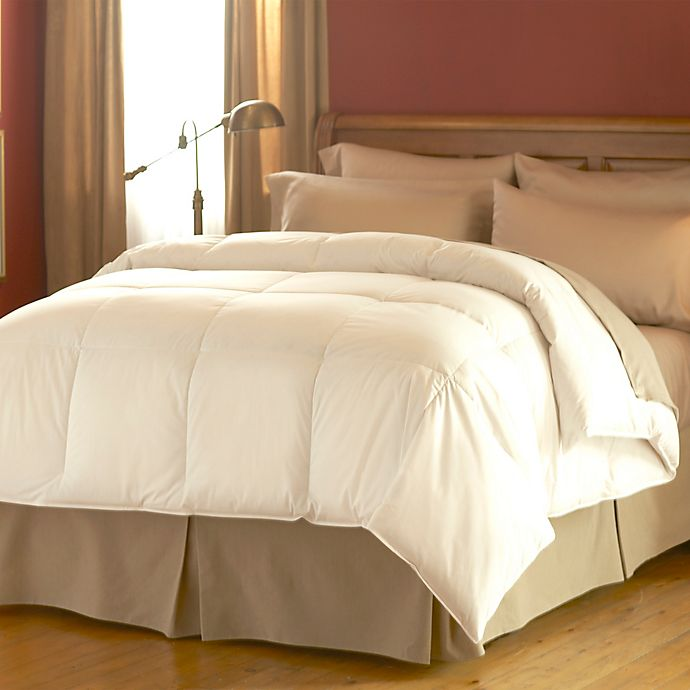 Alternate image 1 for Spring Air® Dream Form Full/Queen Comforter in White