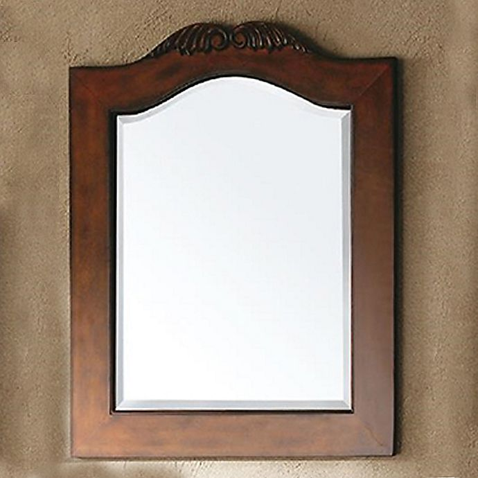 Alternate image 1 for James Martin Furniture St. James 32-Inch Mirror in Cherry