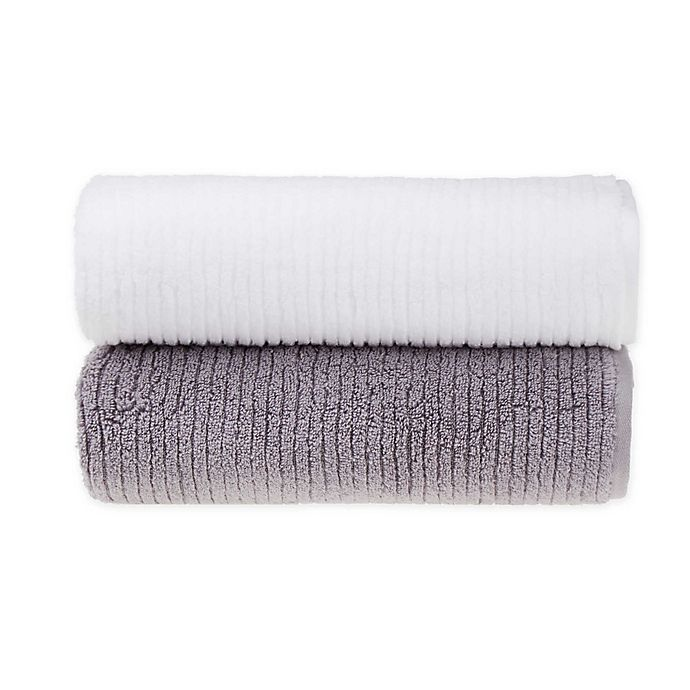 Alternate image 1 for O&O by Olivia & Oliver™ Turkish Ribbed Modal Bath Towel Collection