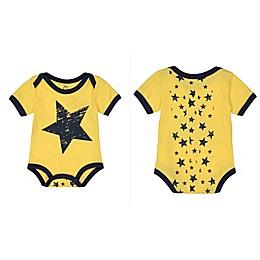 Doodle Pants® Yellow Star Bodysuit in Yellow