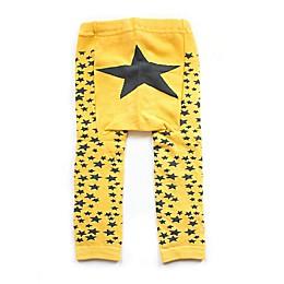Doodle Pants® Star Leggings in Yellow