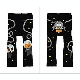 Doodle Pants® Space Walk Leggings in Black