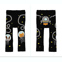 Doodle Pants® Space Walk Leggings in Black