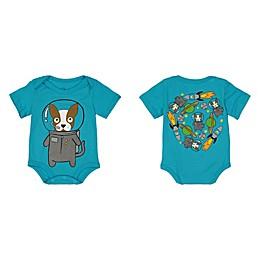Doodle Pants® Astro Dog Bodysuit in Blue