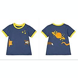 Doodle Pants® Planet Doodle Shirt in Navy