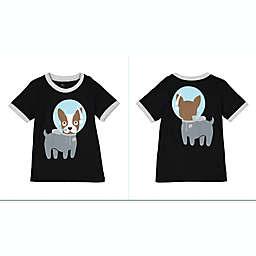 Doodle Pants® Space Dog Shirt in Black