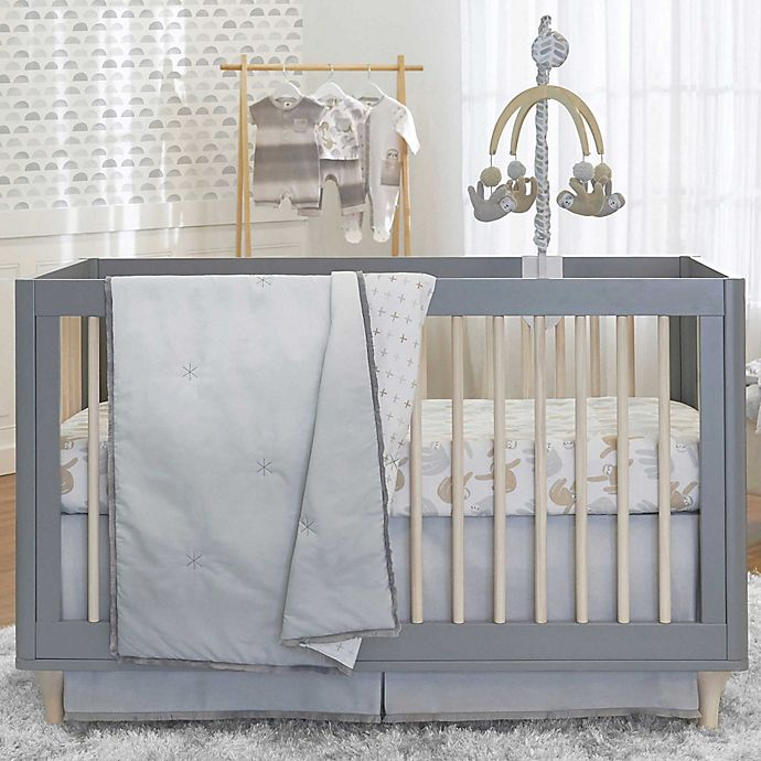 Alternate image 1 for just born® Dream Ombre Nursery Bedding Collection in Grey