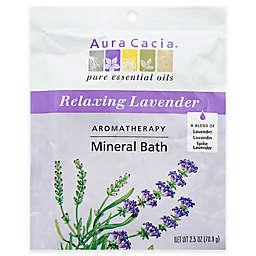 Aura Cacia® 2.5 oz. Mineral Bath Salts in Lavender Harvest