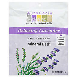 Aura Cacia® 2.5 oz. Mineral Bath Salts in Lavender Harvest