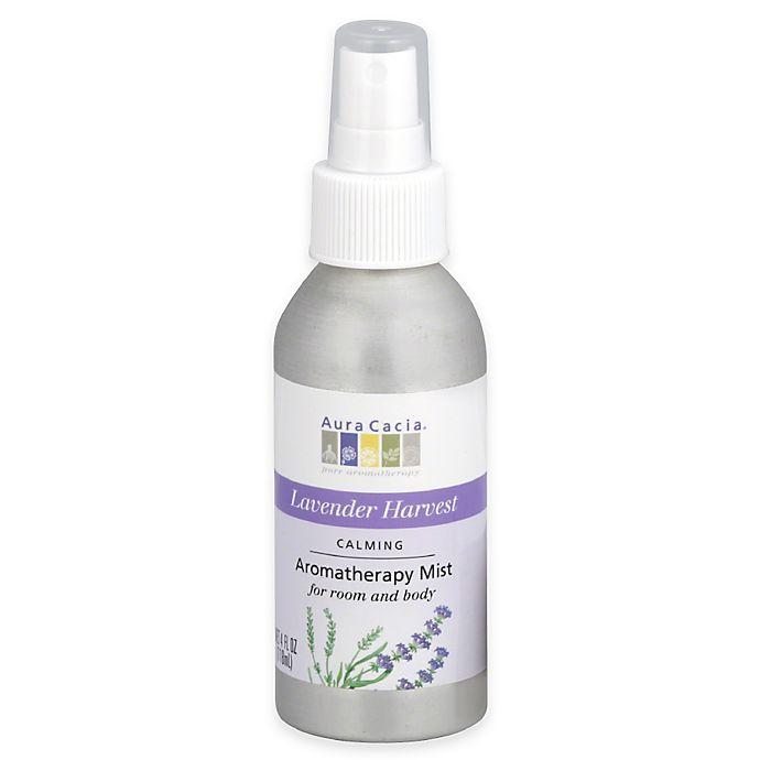 Alternate image 1 for Aura Cacia® 4 oz. Aromatherapy Mist in Calming Lavender Harvest