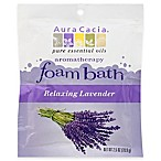 Aura Cacia® 2.5 oz. Aromatherapy Foam Bath in Relaxing Lavender
