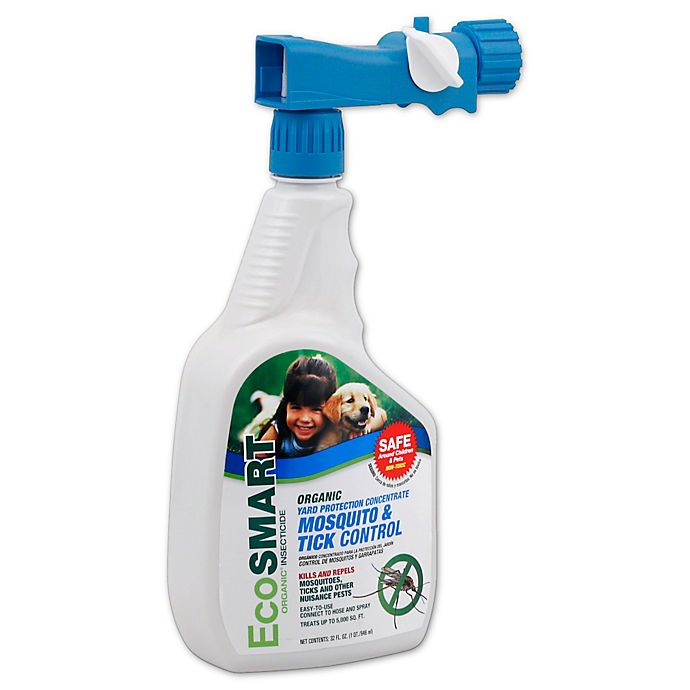Alternate image 1 for EcoSmart® 32 oz. Organic Yard Protection Concentrate Mosquito and Tick Control