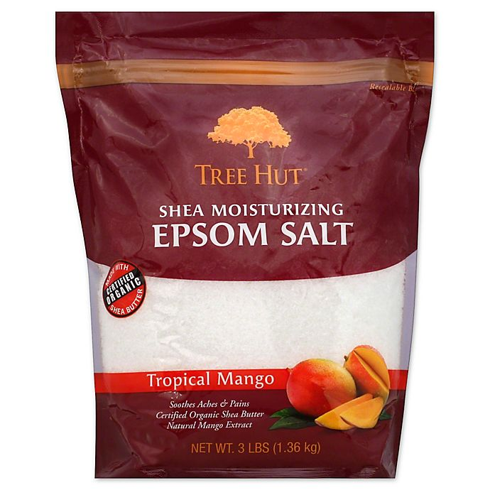 Alternate image 1 for Tree Hut® 48 oz. Shea Moisturizing Epsom Salt Tropical Mango