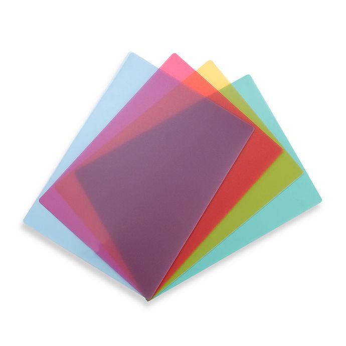 Alternate image 1 for 4-Piece Flexible Cutting Mat Set