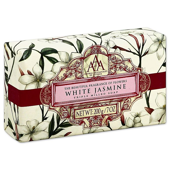 AAA 7 oz  Aromatherapy Triple Milled Bar Soap in White