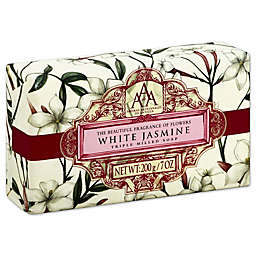 AAA 7 oz. Aromatherapy Triple Milled Bar Soap in White Jasmine