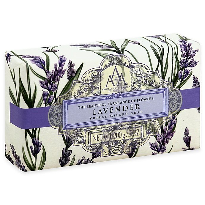 Alternate image 1 for AAA 7 oz. Aromatherapy Triple Milled Bar Soap in Lavender